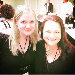 NOLA StoryCon 2016 with cover artist and chicken mama Tricia/Pickyme