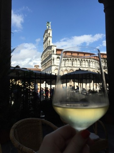 Cheers from Lucca, Italy // Chelsea Mueller, Author