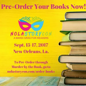 Pre-Order Signed Books from NOLA StoryCon 2017 authors including Chelsea Mueller, Kevin Hearne, Charlaine Harris, Jeaniene Frost, Melissa Marr and more