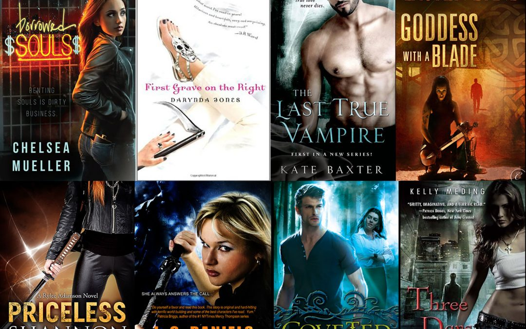Enter to Win 8 Excellent Urban Fantasy and PNR Books