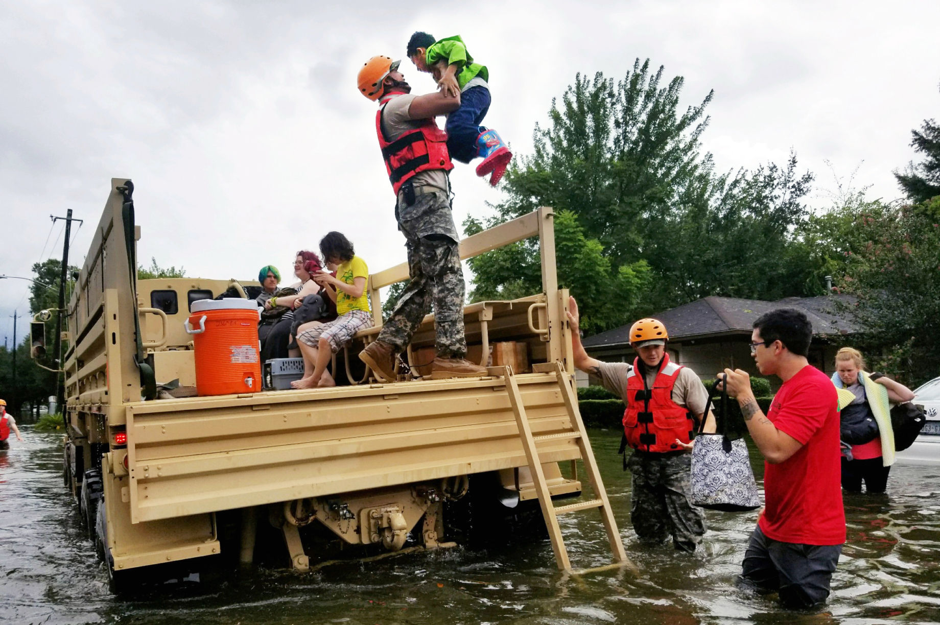 Hurricane Harvey Relief Effort by Global Giving