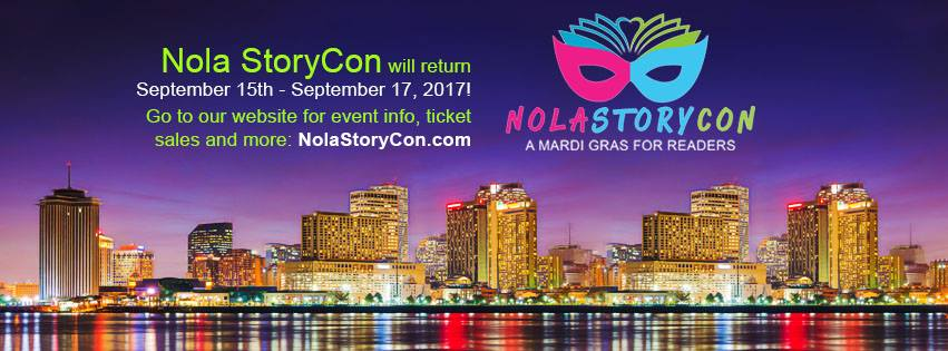 One Week Left to Pre-Order Signed Books for NOLA StoryCon