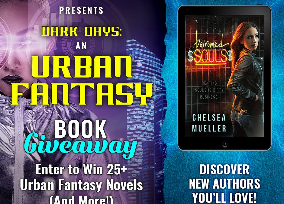 Huge Giveaway: 25+ Urban Fantasy Books Up for Grabs!