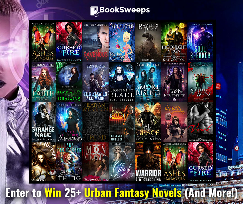 Enter to Win 25+ Urban Fantasy Books - March 2018